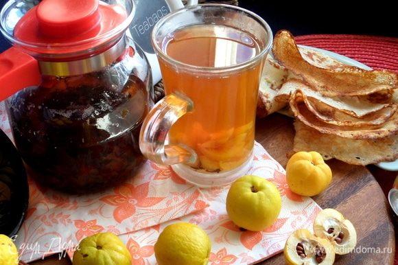 Вот как отличается по цвету один и тот же чай.