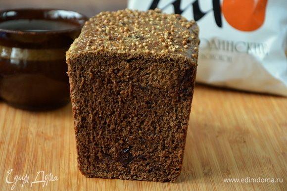 Бородинский хлеб в разрезе :)
