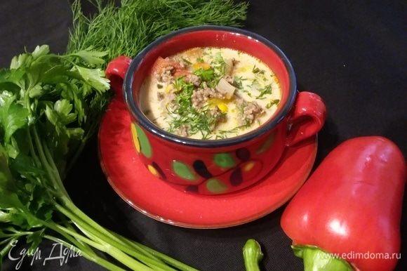 Вот какой необычный, но потрясающий суп вы подадите на стол.