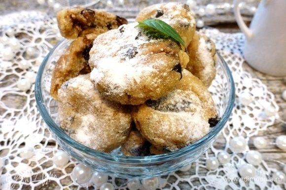 Печенье Бекутте не очень сладкое, поэтому при подаче их можно посыпать пудрой. Приятного чаепития!