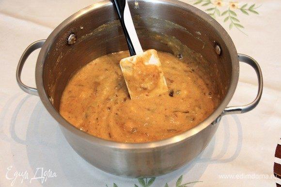 Перемешайте, выложите тесто в форму и отправьте в разогретую духовку на 30–40 минут. И затем остудите.