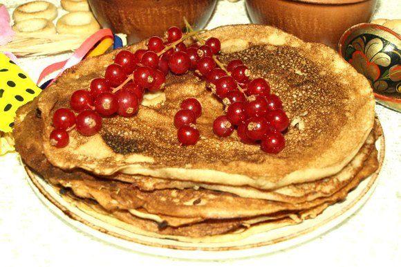 Подаем к завтраку с творогом, ягодами, фруктами.