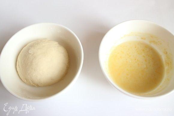 Тесто первого замеса. Вынуть пулиш (poolish) из холодильника за 30 минут до использования и держать при температуре 30°С.
