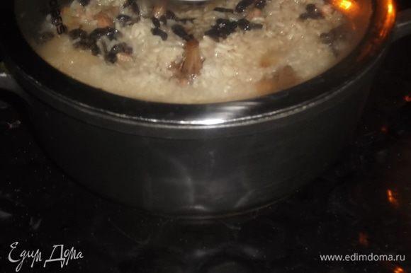 Накрыть крышкой и убрать в духовку еще на 15 минут.