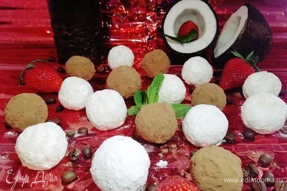 Угощаем, удивляем гостей конфетами из булгура и кокоса.