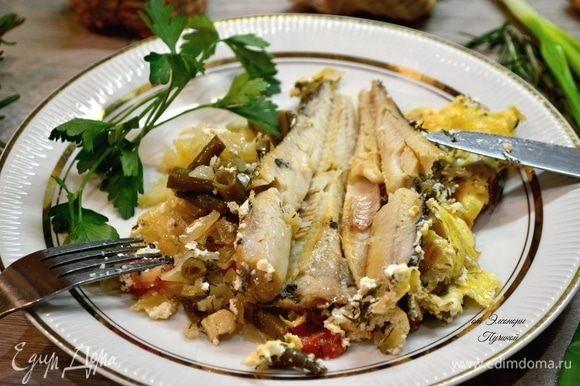 Рыба, приготовленная таким способом, остается сочной и нежной!
