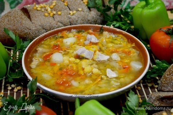 Наш суп готов.