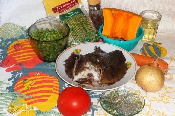Подготовить необходимые компоненты для приготовления блюда.