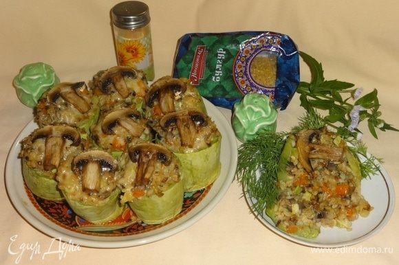 Наше легкое и полезное блюдо готово. Приглашаю всех к столу! Угощайтесь! Приятного аппетита!