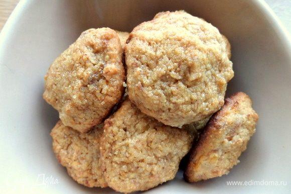 Вот тут, смотрите, как печенье похоже на овсяное.