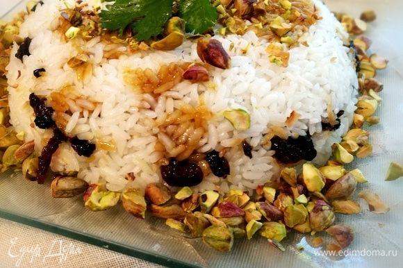 Подавать предлагаю с рисом по-ирански (рецепт следует).