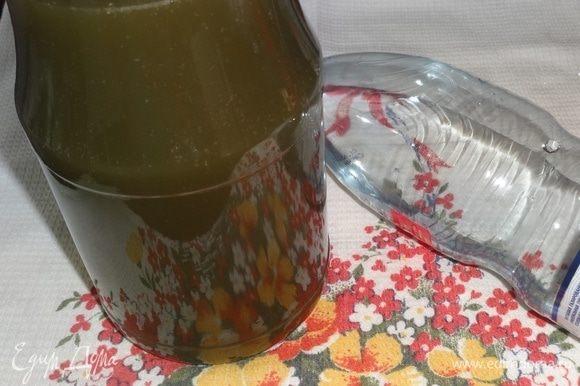 Перед подачей разбавить экстракт охлажденной минеральной водой.