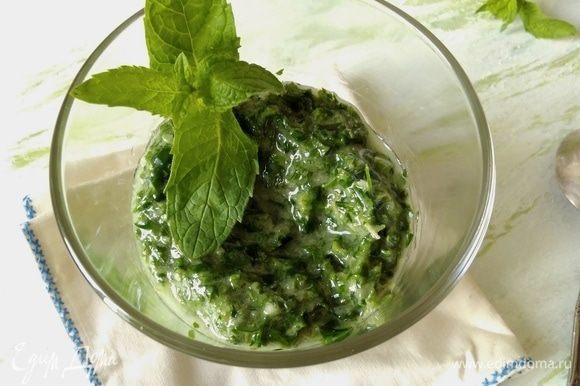 Можно использовать этот соус к курочке из моего рецепта, но тогда соль добавлять не нужно — https://www.edimdoma.ru/retsepty/105596-kuritsa-v-solenade-zapechennaya-s-travami