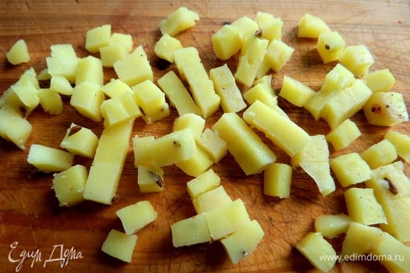 И еще был в холодильнике тминный ароматный сыр, достаточно ломтика.