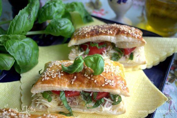 Такую закуску можно быстро приготовить для вечеринки или пикника.