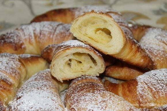 Buongiorno! Добавьте чашечку капучино и наслаждайтесь вкусом настоящих «круассанистых» круассанов.