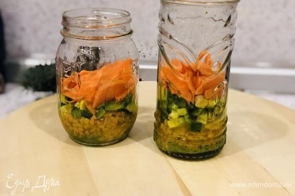 4 слой: добавляем морковь.