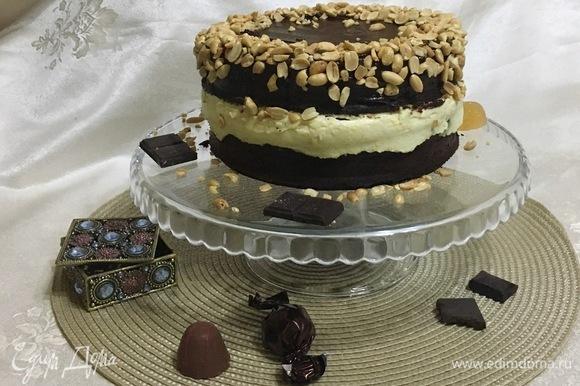 Наш тортик готов.