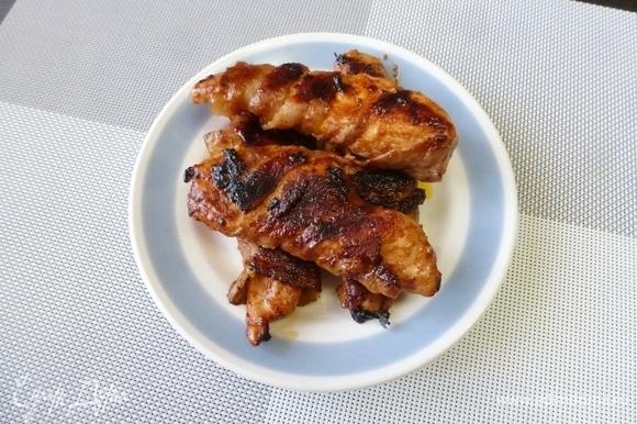 Сочное, ароматное и очень вкусное мясо готово!