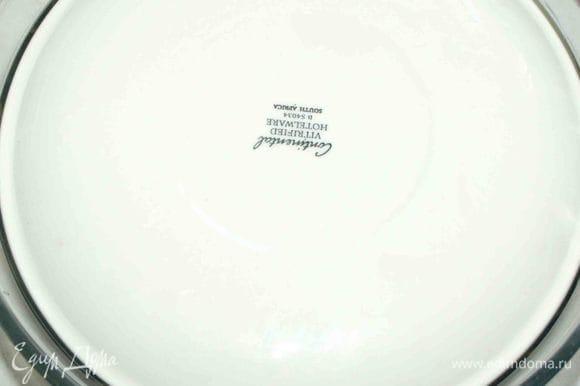 Прижимаем тарелкой и оставляем на 30 минут или на 1 час.
