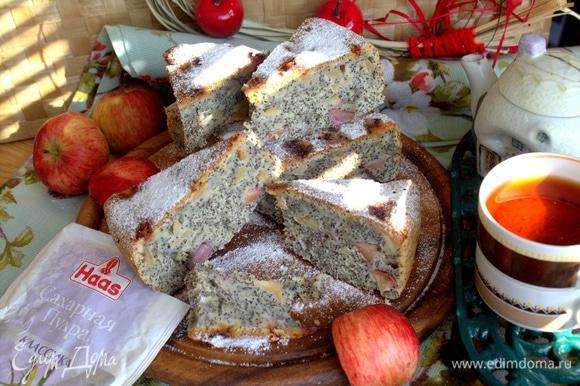 Пирог хорош для хранения в закрытой емкости, для переноски, не ломается, не крошится.