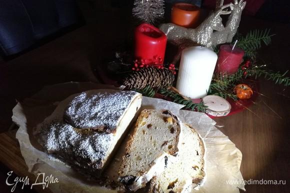 И вкусных и весёлых вам праздников!