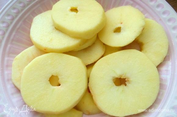Сбрызнуть лимонным соком.