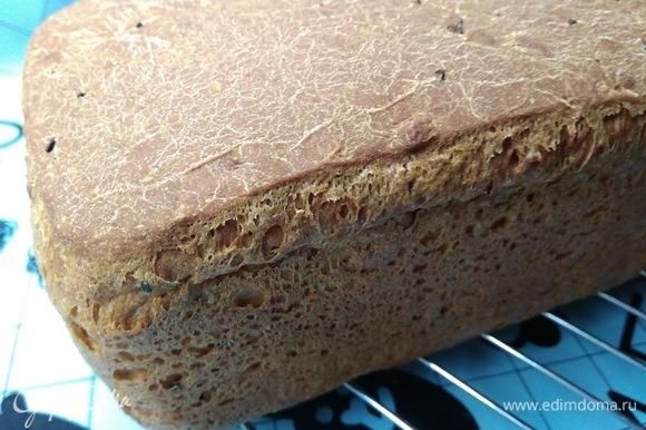 Я оставляю хлеб на ночь в холодильнике. Утром он просто восхитительный, особенно в виде гренок с яичницей на завтрак. Приятного аппетита!