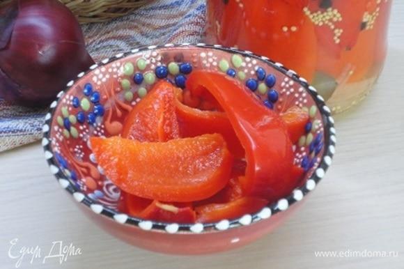 Ароматные хрустящие перцы — отличное дополнение к мясным и овощным блюдам.