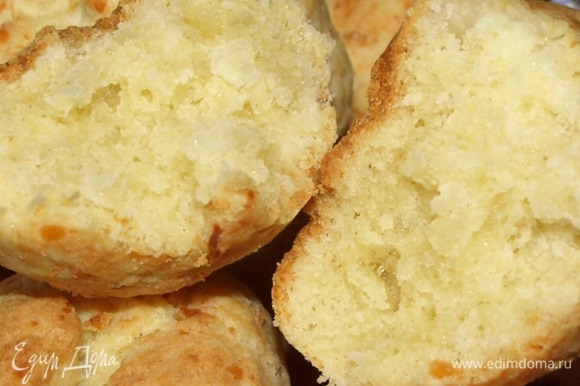 Печенье вкусное в теплом и холодном виде.
