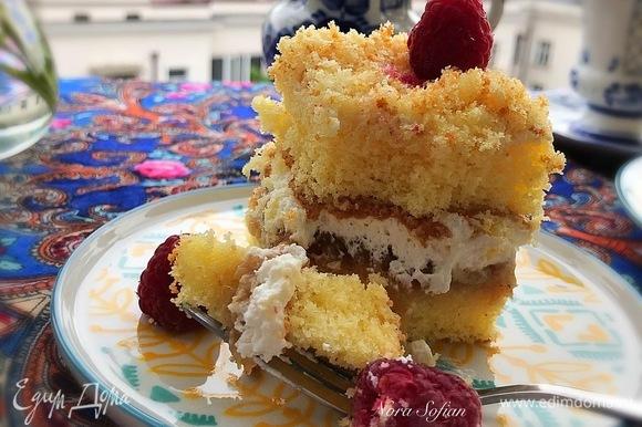 Десерт просто тает во рту.