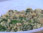Рис с зеленью