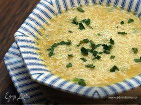 Суп из чечевицы с перцем и тмином