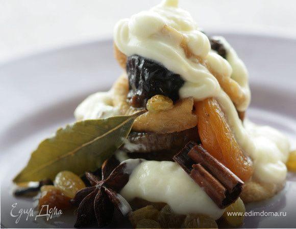 Марокканский десерт из сухофруктов