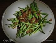 Салат из спаржи с кунжутом