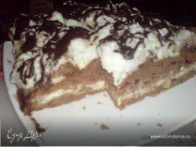 """торт""""чёрное море"""""""