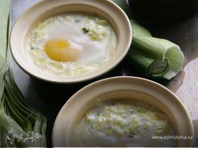 Яйца с луком