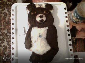 "торт""Олимпийский мишка."""