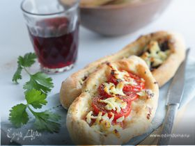 Турецкие лепешки с начинкой