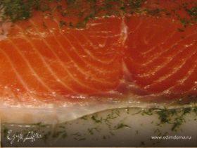 Засолка красной рыбы по-мурмански