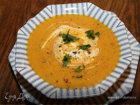 Суп из сладкого картофеля