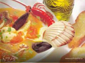 Cacciucco alla livornese - Густой суп из морепроду