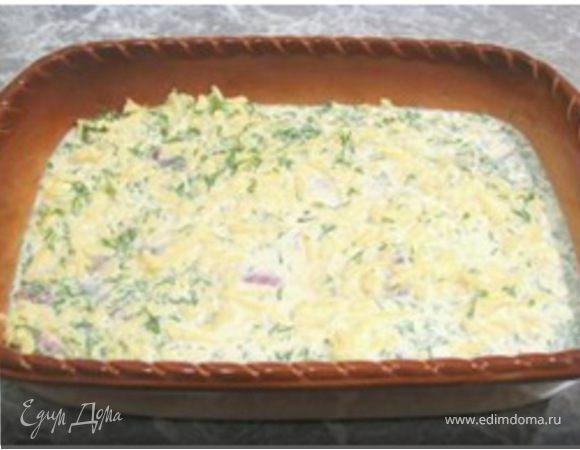 Рыба под горчичным соусом