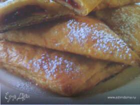 Пирожки из творожно-медового теста