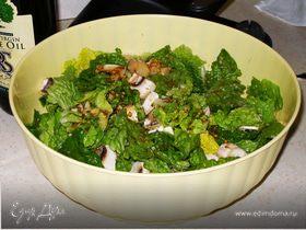 Грибной салат по-флорентийски