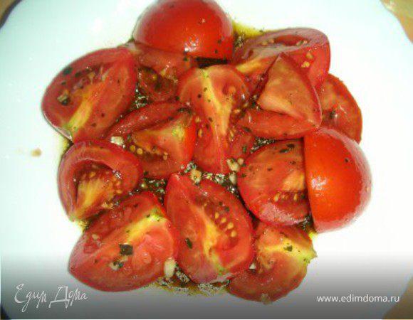 Итальянский помидорный салат