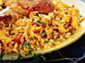 Курица в пиве с рисом