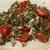 Салат с чечевицей и бужениной