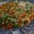 Фриттата с тыквой, зеленым горошком и сладким перцем