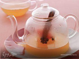 Тёплый напиток из грейпфрута